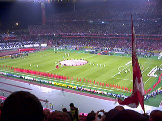Liverpool vs AC Milan, Ataturk stadium, Istanbul 2005 Champions League Final